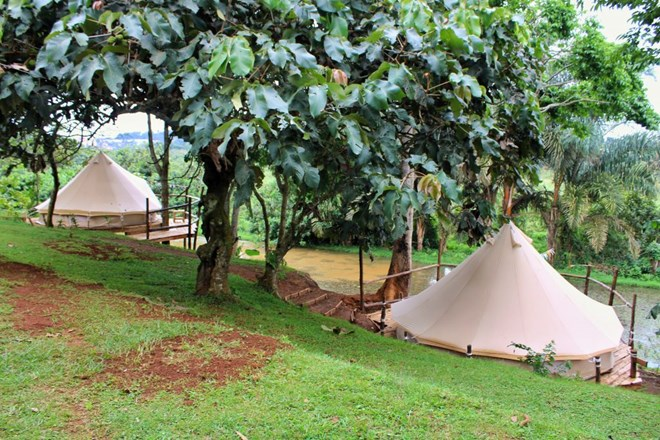 Glamping at viavia Guesthouse