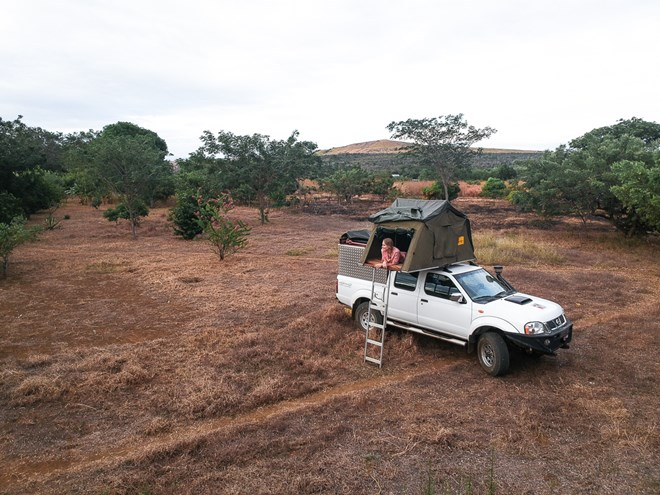 Car hire and camping with rooftop tent with Roadtrip Madagascar