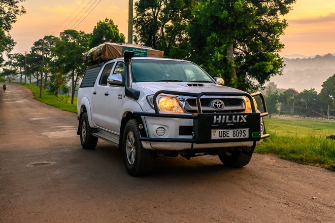 Cars for rent for your Roadtrip in Uganda